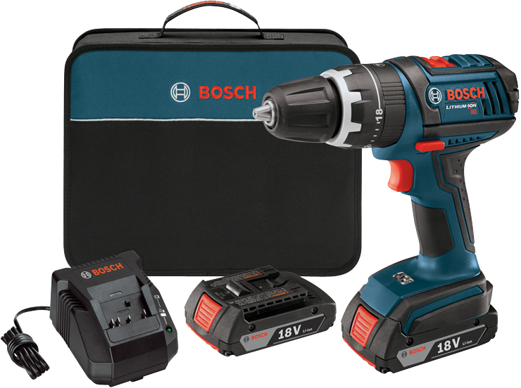 HDS181-02 18V Compact Tough 1/2 In. Hammer Drill/Driver Kit
