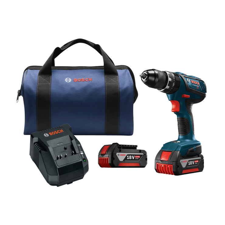 HDS181A-01 18V Compact Tough 1/2 In. Hammer Drill/Driver Kit