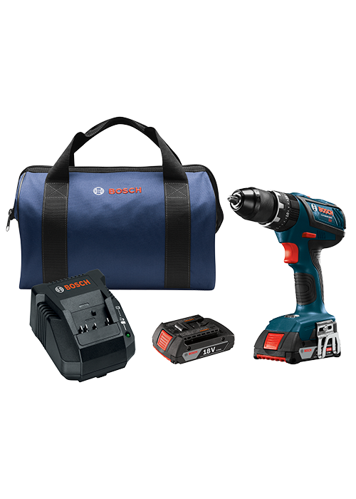 HDS181A-02 18V Compact Tough 1/2 In. Hammer Drill/Driver Kit