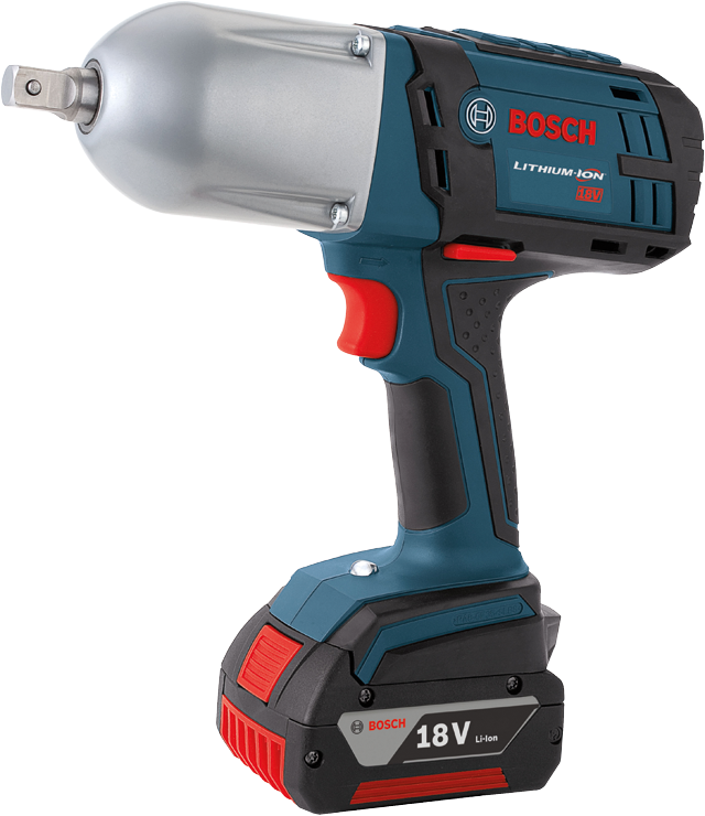 HTH181 18 V High Torque Impact Wrench with Pin Detent - Bare Tool