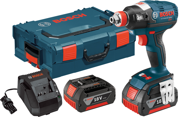 IDH182-01L 18 V EC Brushless 1/4 In. and 1/2 In. Socket-Ready Impact Driver