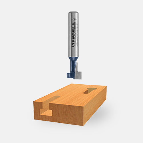 Keyhole Router Bits