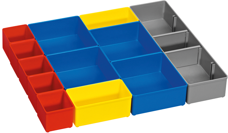 ORG53-12 12 pc. Organizer Insert Set for L-Boxx System
