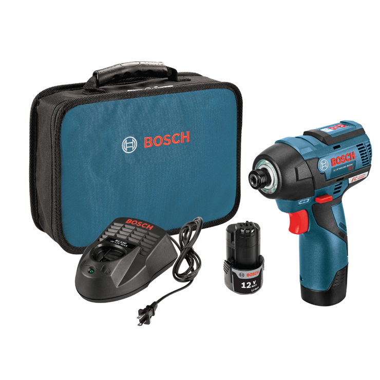 PS42-02 12 V Max EC Brushless Impact Driver Kit