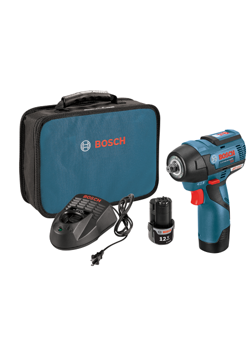 PS82-02 12V Max EC Brushless 3/8 In. Impact Wrench Kit