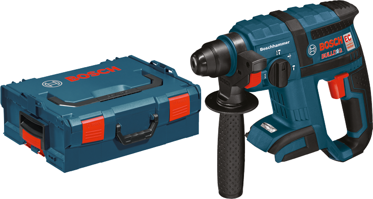 RHH181BL 18 V 3/4 In. SDS-plus® Core Rotary Hammer Kit w/ Chisel Function Bare Tool w L-Boxx 2