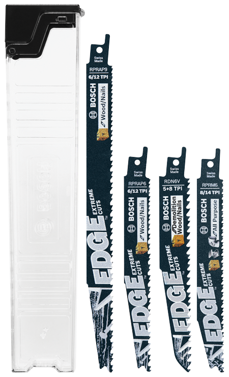 RSE006 6 pc. Edge Reciprocating Saw Blade Set