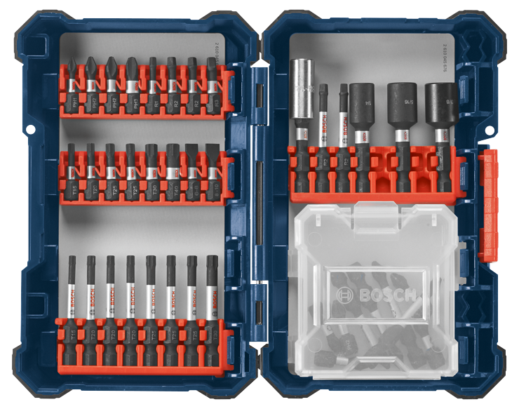 SDMS40 40 pc. Impact Tough™ Screwdriving Custom Case System Set