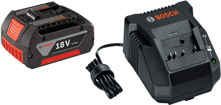 SKC181-101 2 pc. 18V Lithium-Ion FatPack Battery and Charger Starter Kit