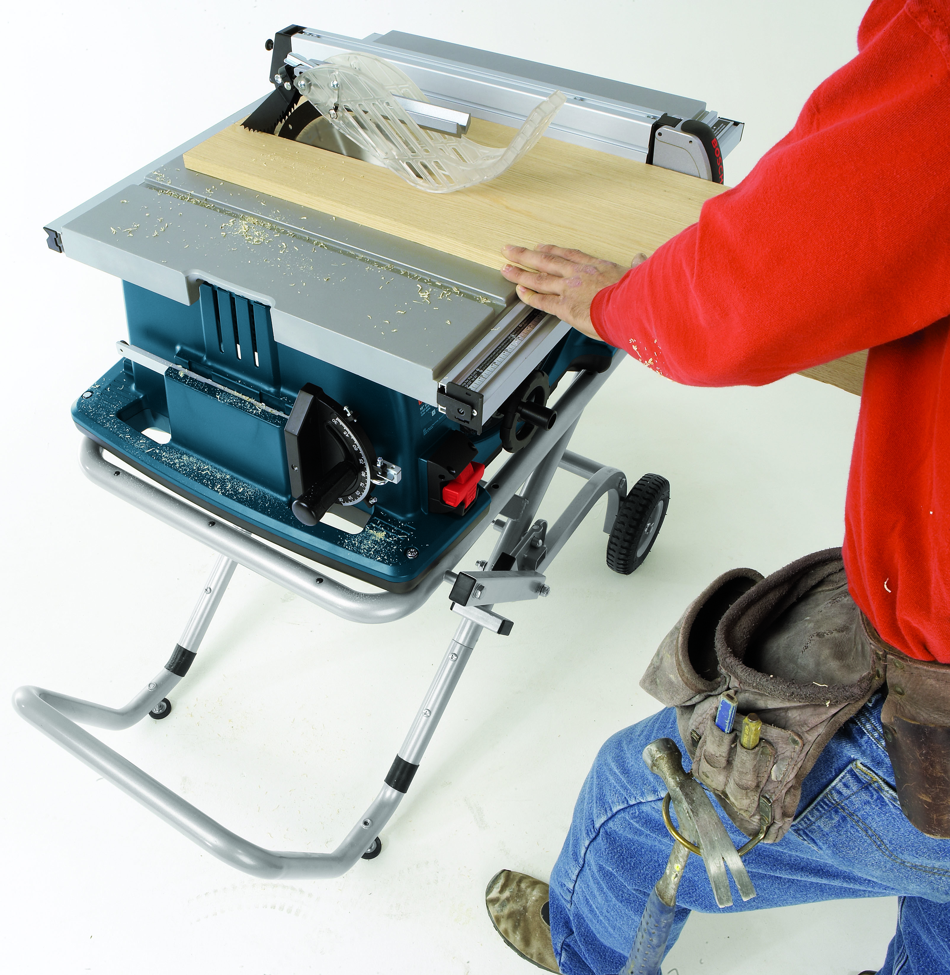 4100 09 10 In Worksite Table Saw With Gravity Rise