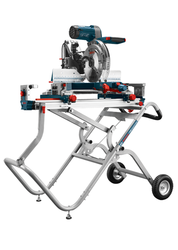 T4B Gravity-Rise Miter Saw Stand with Wheels