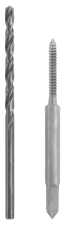 BDT440 4 - 40 Plug Tap and No. 43 Drill Bit Combo Set