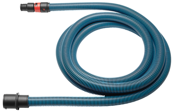 VH1635A Anti-Static 16 Ft., 35 mm Diameter Dust Extractor Hose