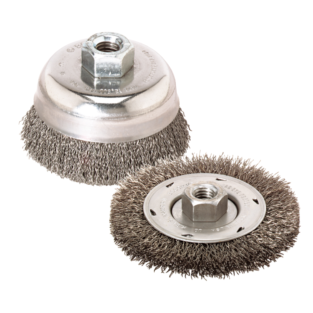 Wire Wheels and Cup Brushes