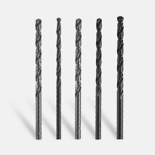 Wire Gauge Black Oxide Drill Bits (Bulk)