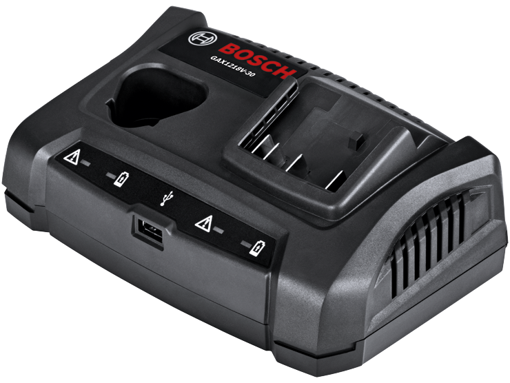 GAX1218V-30 18V/12V Dual-Bay Battery Charger