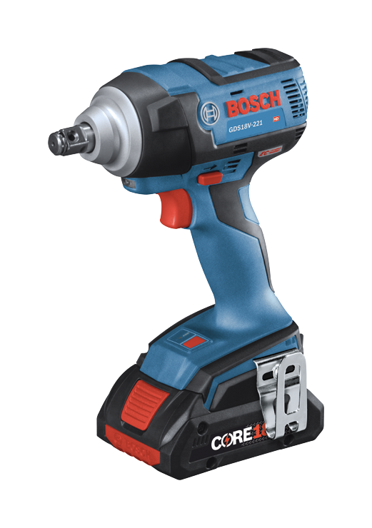 GDS18V-221 Overview 18V EC Brushless 1/2 In. Impact Wrench with Friction Ring and Thru-Hole