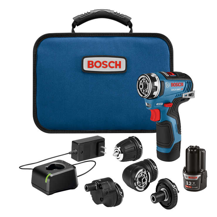 GSR12V-300FCB22 12V Max EC Brushless Flexiclick® 5-In-1 Drill/Driver System with (2) 2.0 Ah Batteries