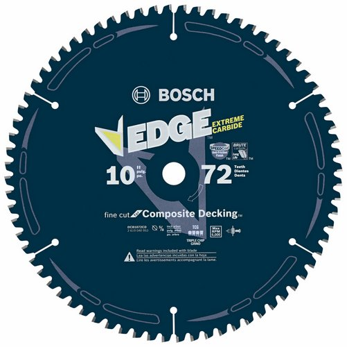 Edge Composite Decking Circular Saw Blades