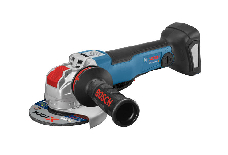 GWX13-50VSP 5 In. X-LOCK Variable-Speed Angle Grinder with Paddle Switch