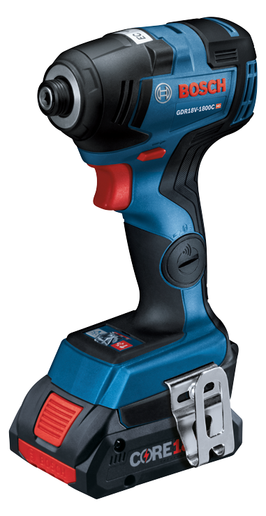 GDR18V-1800C Overview 18V EC Brushless Connected-Ready 1/4 In. Hex Impact Driver
