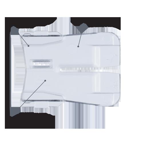 Bosch JA1013 Jig Saw Anti-Splintering Insert 5 Pk.