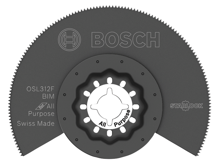 OSL312F 3-1/2 In. Starlock® Bi-Metal Flush Cut Blade