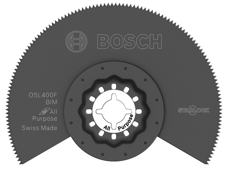 OSL400F 4 In. Starlock® Oscillating Multi Tool Bi-Metal Segmented Saw Blade