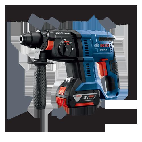 GBH18V-20K21   18V SDS-plus® 3/4 In  Rotary Hammer Kit   Bosch Power