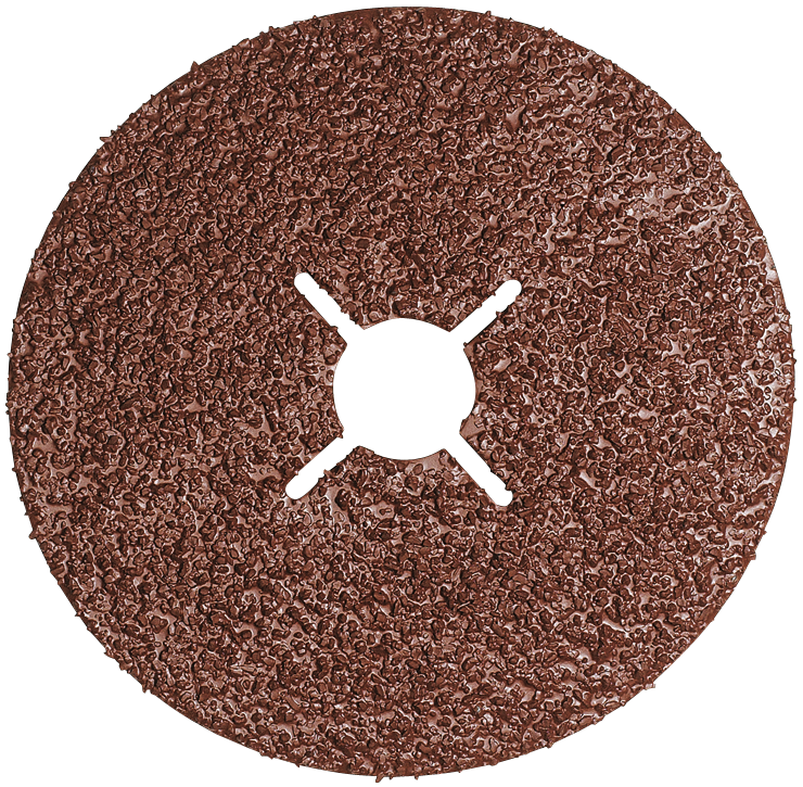 GS424 5 pc. 4-1/2 In. 24 Grit Abrasive Sanding Discs
