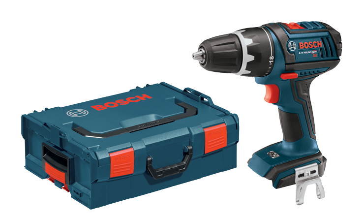 DDS181BL Perceuse-visseuse 18 V Compact Tough™ de 1/2 po avec coffret de transport L-BOXX