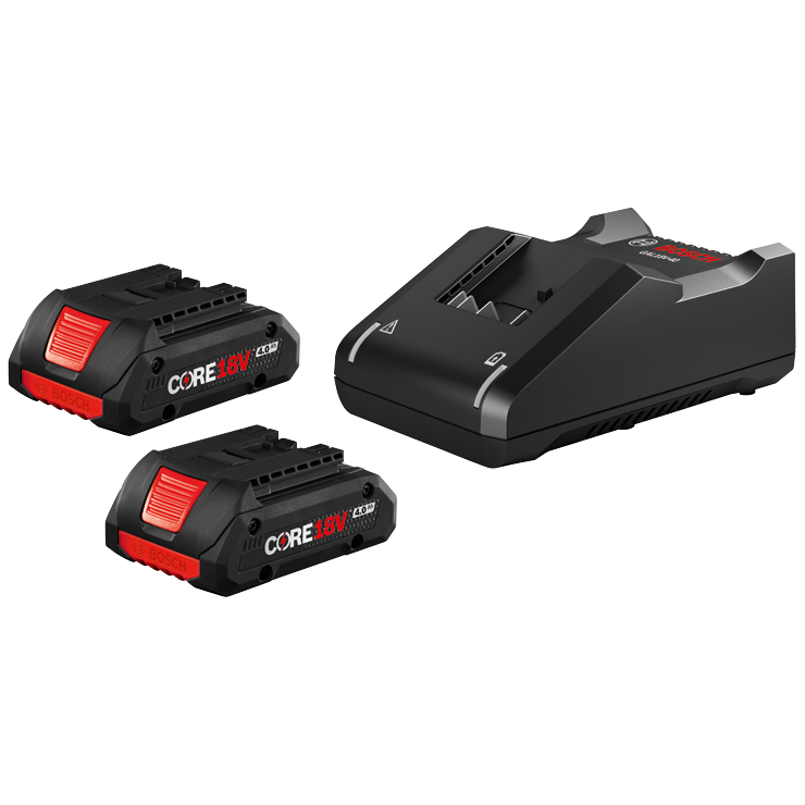 GXS18V-11N25 18V CORE18V Starter Kit with (2) CORE18V 4.0 Ah Compact Batteries