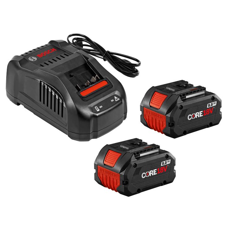 GXS18V-13N24 Kit de départ 18 V CORE18V avec (2) batteries Performance CORE18V 8,0 Ah