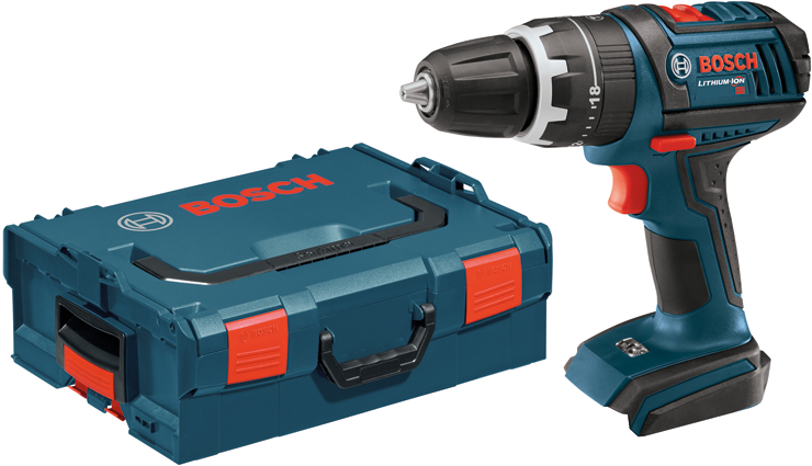 HDS181BL Perceuse-visseuse à percussion 18 V Compact Tough™ de 1/2 po avec coffret de transport L-BOXX
