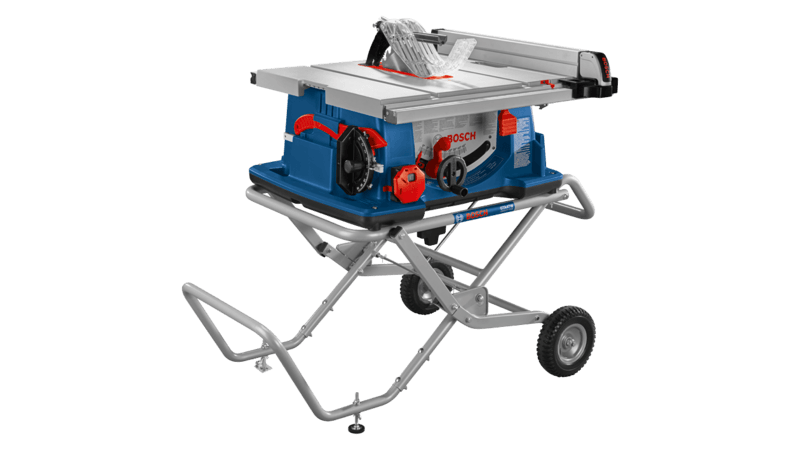 Main 1 - Bosch 4100XC 10 in Worksite Table Saw with Gravity-Rise Wheeled Stand, 15 Amp - CBS BAHAMAS LTD
