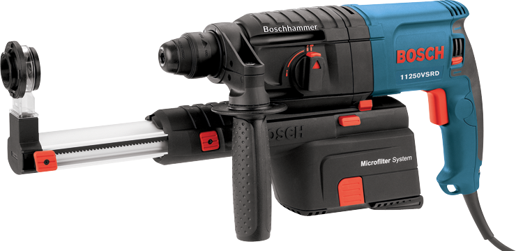 11250VSRD 7/8-In. SDS-plus® Bulldog™ Rotary Hammer with Dust Collection