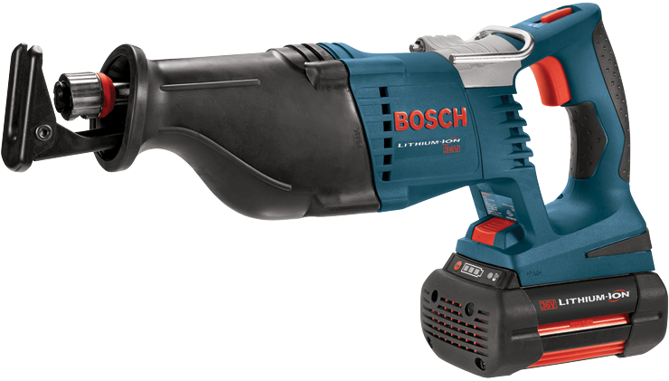 Bosch 18v 18 Volt Lithium Ion Cordless Reciprocating Saw Kit Crs180 CRS180K