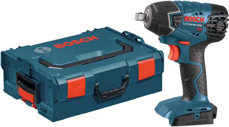 25618BL 18V 1/4 In. Hex Impact Driver Kit with L-Boxx Carrying Case