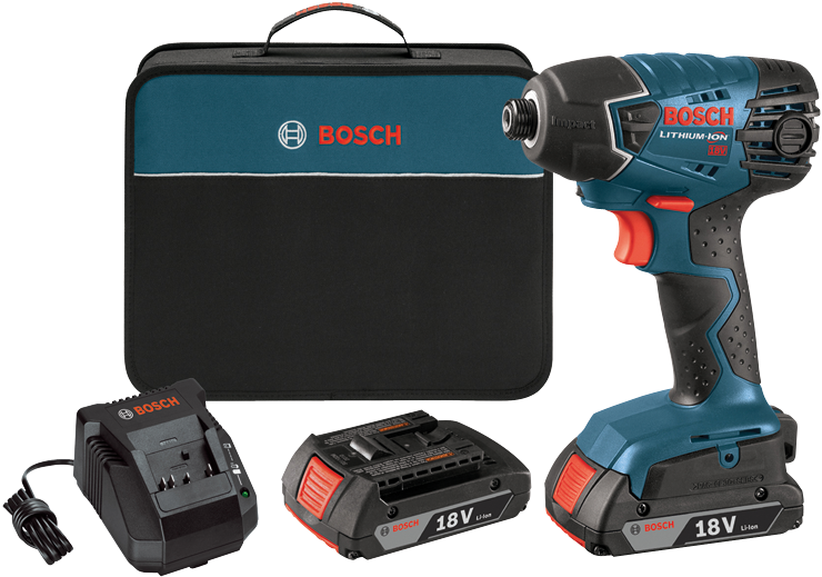 25618-02 18V 1/4 In. Hex Impact Driver Kit