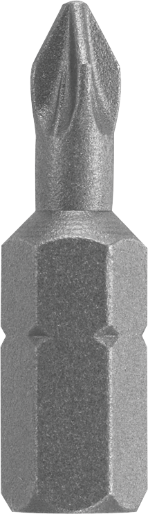 27036 1 In. Phillips® P2R Reduced Insert Bit (Bulk)