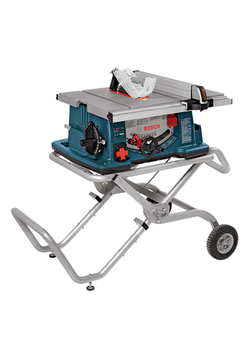 4100-09 10 In. Worksite Table Saw with Gravity-Rise™ Wheeled Stand