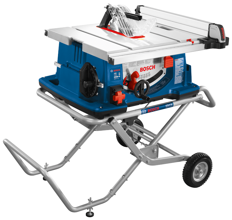 4100-10 10 In. Worksite Table Saw with Gravity-Rise Wheeled Stand