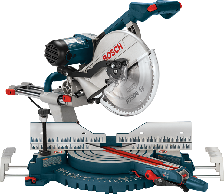 5312 12 In. Dual-Bevel Slide Miter Saw with Upfront Controls