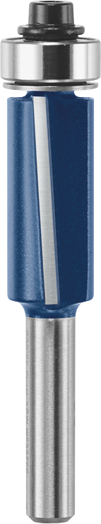 85266SM 1/2 In. x 2-1/2 In. Carbide-Tipped 2-Flute Flush and Bevel Laminate Trim Bit