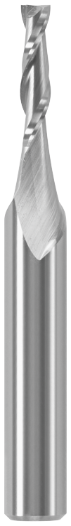 85908MC 1/8 In. x 1/2 In. Solid Carbide Double-Flute Upcut Spiral Router Bit