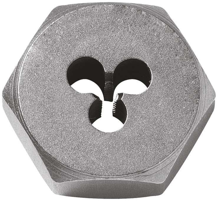BHD14F28 1/4 In. - 28 High-Carbon Steel Fractional Hex Die