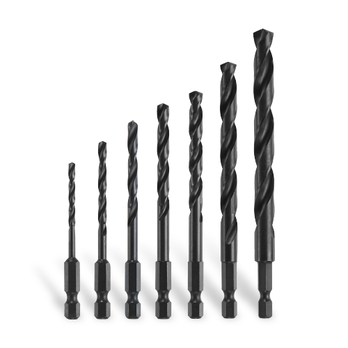 Black Oxide Drill Bit Sets