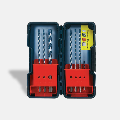 BlueGranite® Turbo Carbide Hammer Drill Bits