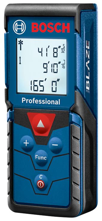 GLM165-40 | BLAZE™ Pro 165 Ft. Laser Measure | Bosch Power Tools