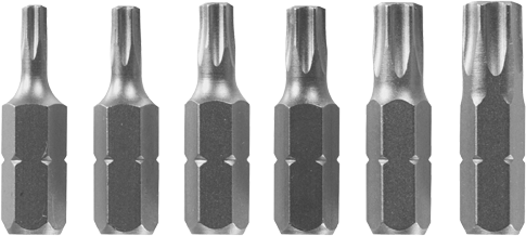 CC90396 6 pc. Torx® Insert Bit Set